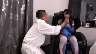 すーぱーさせ子 mao 企業ブースでお馴染みの天然Fカップ巨乳ちゃん!おじさん好き現役有名コスプレイヤーの妊娠中出し生パコ催眠オフwww_8