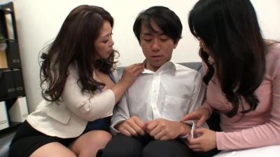 【加山なつこ】巨乳女PTA会長と女校長が男子生徒に性的奉仕した事が問題になり肉体謝罪 加山なつこ 桐島美奈子