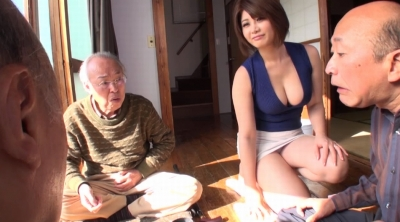 老人たちに寝取られたセックスレスの夫を持つ巨乳嫁 推川ゆうり_7