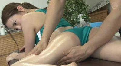一般人より性欲が強い女子陸上部員は媚薬オイルの効果で快感が倍増し神騎乗位でイキまくる_7