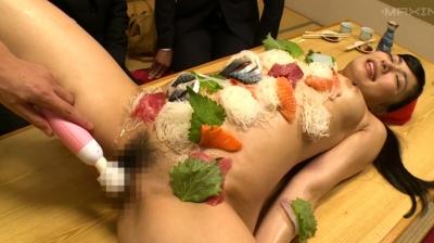 【由愛可奈】屈辱の全裸居酒屋店員 由愛可奈