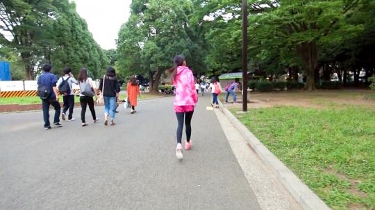 【ありさ 21歳 学生】ジョギングナンパ 12 in 代々木公園