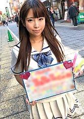 【ゆな 19歳 アイドルカフェの店員】コスプレカフェナンパ 34