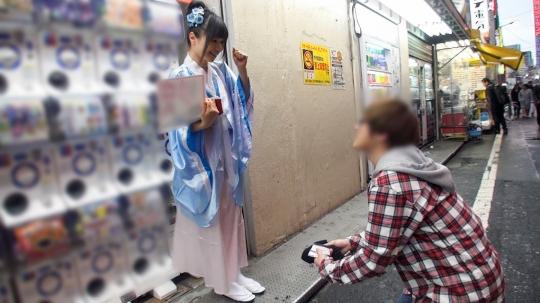 【楓 22歳 女子大生(竜宮城カフェアルバイト)】コスプレカフェナンパ 36_5
