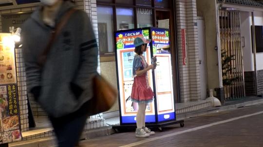 【みい 19歳 コスプレバーの店員】コスプレカフェナンパ 38_3