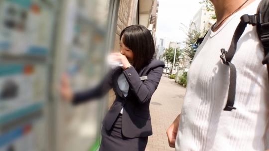【花菜 26歳 建設会社の営業事務】マジ軟派、初撮。 1134_5