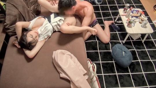 【今日子 28歳 パティシエ】百戦錬磨のナンパ師のヤリ部屋で、連れ込みSEX隠し撮り 116 『縛られたい願望があるw』の一言でまんまと拘束され乳首とオマ〇コ同時責め!ノリ良し顔良しカラダ良し!爆乳揺らしてイチャラブSEX!!_4