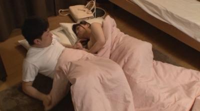 僕の部屋に泊まりにきた叔母さんが寝るときは裸族だったことが判明!かつてのオナペットを前にしてイクべきか迷っていたらむこうから激しく甥っ子チ○ポを求めてきた! 3_3