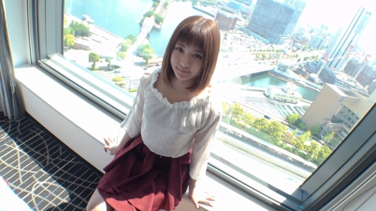 【かれん 22歳 美容師】【初撮り】ネットでAV応募→AV体験撮影 672_1