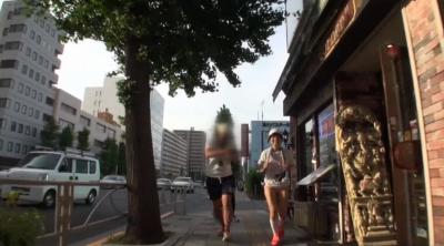やんひびが走るってよ AV女優はフルマラソン(42.195km)走り終わった後、何回騎乗位出来るのか検証!! 大槻ひびき_7