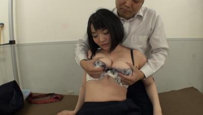 Kカップパイパン巨乳女子校生~バスト99cmの爆乳美少女といいなり中出し性交~ さなえ_7